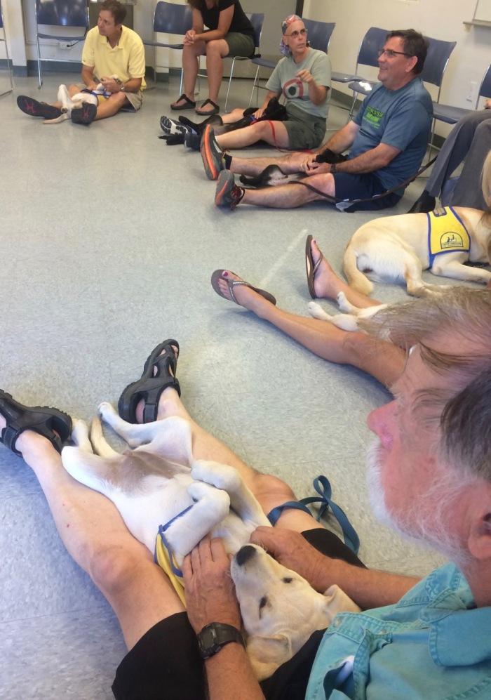 072616 puppy class